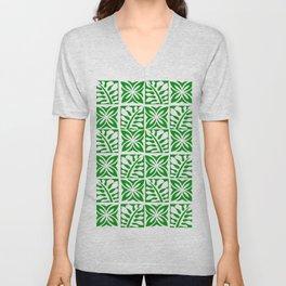 Green Christmas Unisex V-Neck