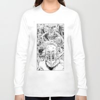 mad max Long Sleeve T-shirts featuring Mad Max Fury Road by Joseph Silver