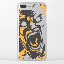 Burnt by the sun Clear iPhone Case