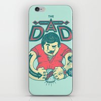 dad iPhone & iPod Skins featuring THE DAD by andbloom