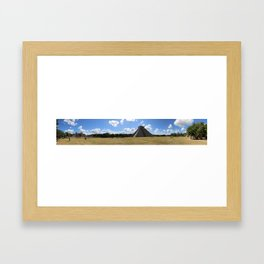 Chichen Itzá Framed Art Print