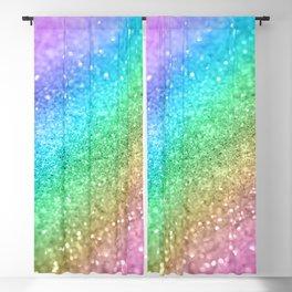 Rainbow Princess Glitter #1 (Photography) #shiny #decor #art #society6 Blackout Curtain