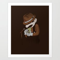 8-bit Blues Art Print