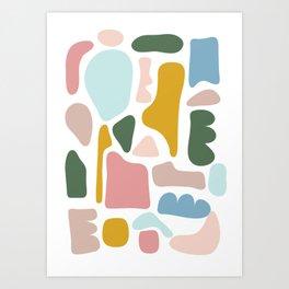 Shapes Two Art Print