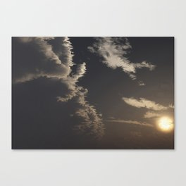 Approaching Front (Cloud series #7) Canvas Print