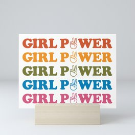 Girl Power Mini Art Print