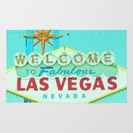 Vintage Vegas Sign - Las Vegas Sign Rug