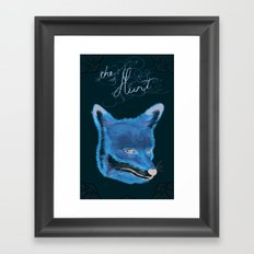 the hunt :: lace Framed Art Print
