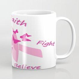 breast cancer ribbon  Coffee Mug
