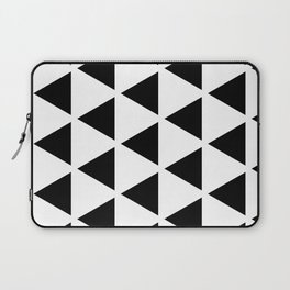 Sleyer Black on White Pattern Laptop Sleeve