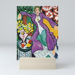 Woman in a Purple Coat 1937 by Henri Matisse, Artwork Design, Poster Tshirt, Tee, Jersey, Postcard Mini Art Print