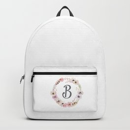 Floral Wreath - B Backpack