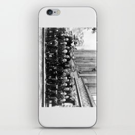 World-Renowned Physicists of 1927 at Solvay Conference iPhone Skin