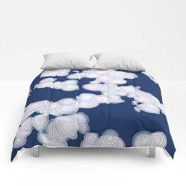 Cloudy Night Comforters