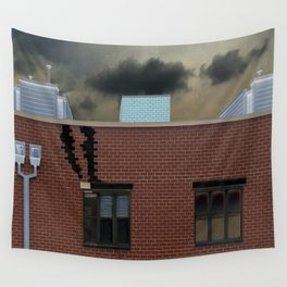 Slipping Through Daylight Wall Tapestry