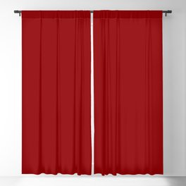 Best Seller Colors of Autumn Dark Red Tomato Solid Color - Accent Shade / Hue Blackout Curtain
