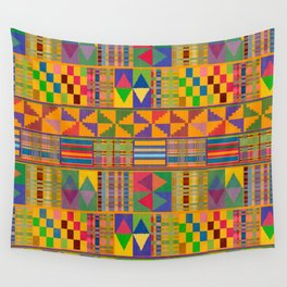 Kente Inspired Wall Tapestry