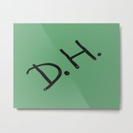 Senior Scribe DH  Metal Print