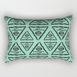 Triangle by Caleb Croy Rectangular Pillow