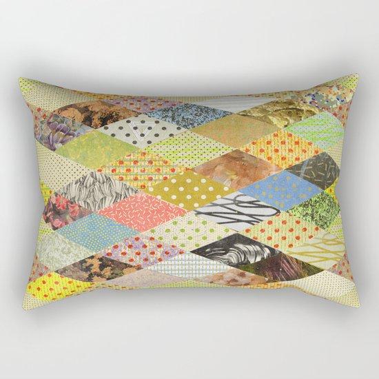 RHOMB SOUP / PATTERN SERIES 002 Rectangular Pillow