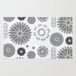 Simply Steampunk Pattern Rug