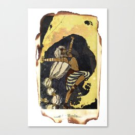 moon tarot Canvas Print