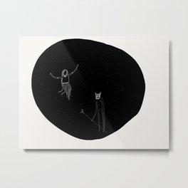 Dispute Metal Print