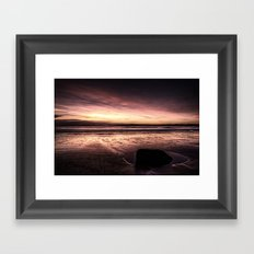 Seaside in the Morning Framed Art Print
