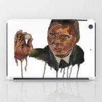 christopher walken iPad Cases featuring Christopher Walken as Captain Koons by rusto