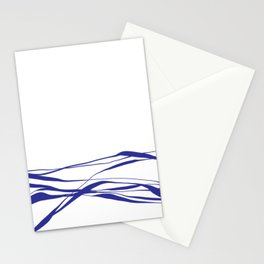 A Bottomless Sea No. 2 Blue Stationery Cards