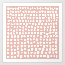 Dots (Pink) Art Print
