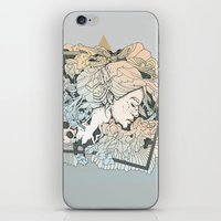 frames iPhone & iPod Skins featuring BROKEN FRAMES by Cassidy Rae Marietta