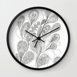 Graphics Drops 2 Wall Clock