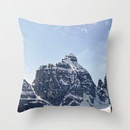 The Mitre, Banff National Park Throw Pillow
