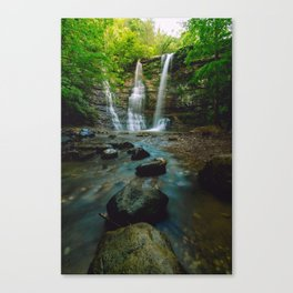 Tripple Falls Canvas Print