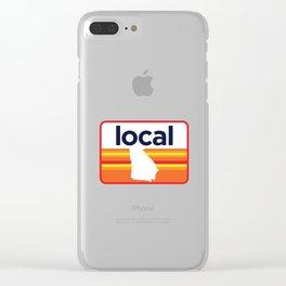 Georgia Local Clear iPhone Case