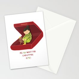 All you want for Xmas is me Stationery Cards