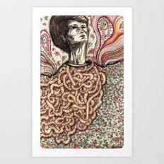 Entrails Art Print