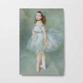 Pierre-Auguste Renoir - The Dancer Metal Print