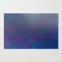 scales Canvas Prints featuring Scales by Sahara Novotny