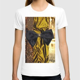 COCO GLAMOUR AND VINTAGE : BOW T-shirt
