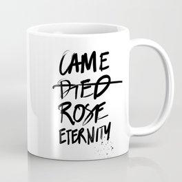 #JESUS2019 - Came Died Rose Eternity (black) Coffee Mug