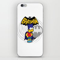 simpsons iPhone & iPod Skins featuring Bartman: the simpsons superheroes by logoloco