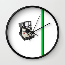I love Polaroid 1000  Wall Clock