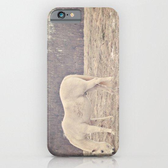 Pretty White Pony  iPhone & iPod Case