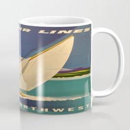 Vintage poster - Pacific Northwest Coffee Mug