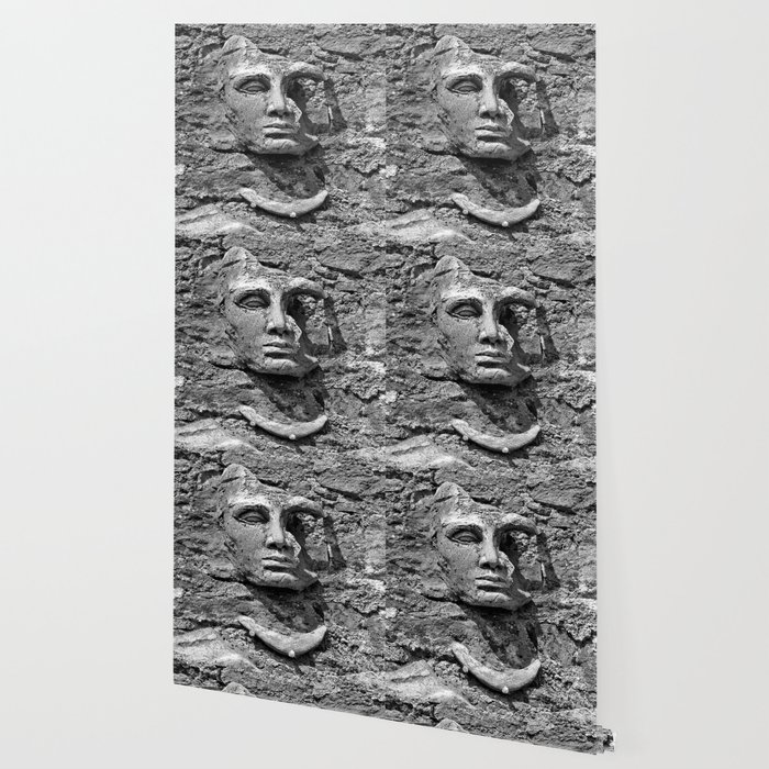 Stone Face Wallpaper