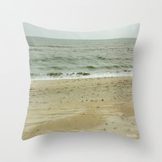 Ocean City Waters Throw Pillow