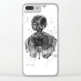 Silly Droid Clear iPhone Case