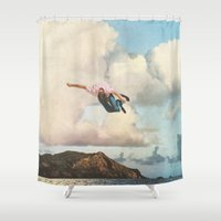 fall Shower Curtains featuring Fall by Sarah Eisenlohr